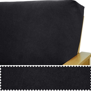 Micro Suede Black Pillow