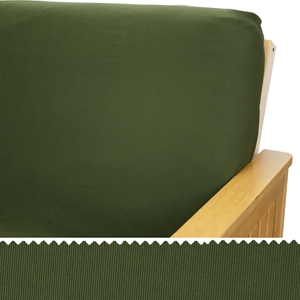 Stretch Olive Pillow