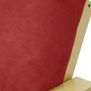Twill Ruby Outdoor Pillow