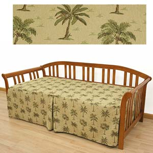 Desert Palm Daybed Cover