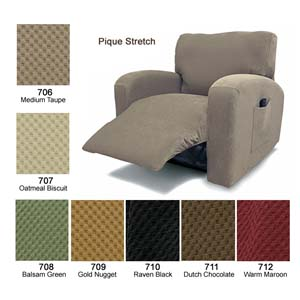 stretch-pique-chair-recliner-cover