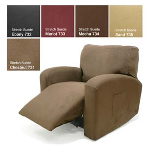 stretch-suede-chair-recliner-cover