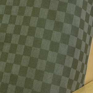Checkered Spruce Fitted Mattress Cover