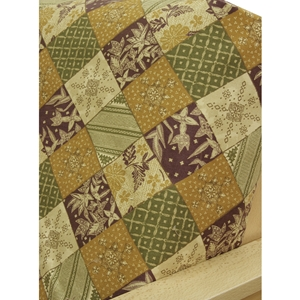Patchwork Fitted Mattress Cover