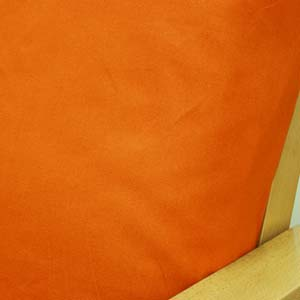 Solid Orange Futon Cover