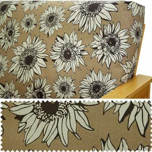 Sunny Chocolate Daybed Cover