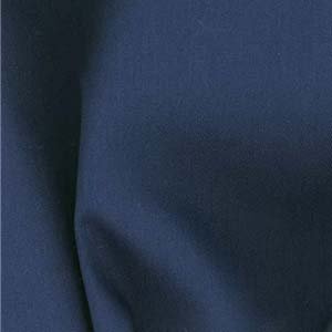 Navy Blue Twill Fitted Mattress Cover