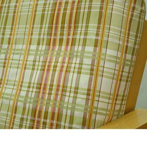 Regal Plaid Fitted Mattress Cover