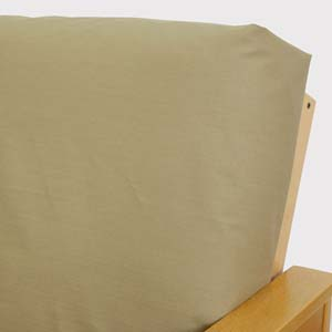 Ripstop Khaki Fitted Mattress Cover