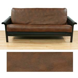 faux-leather-brown-full-futon-cover-222