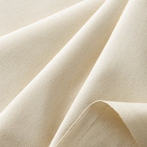 Solid Natural Fabric
