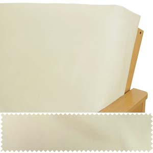 Ivory Futon Cover