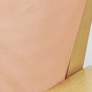 Poplin Peach Custom Furniture Slipcover 917