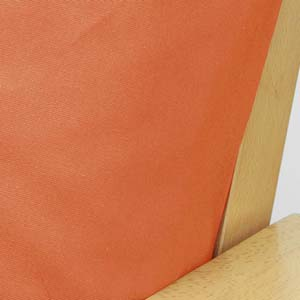 Poplin Salmon Full Futon Cover