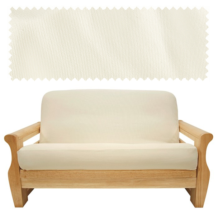 Brushed Natural Canvas Futon Cover 335