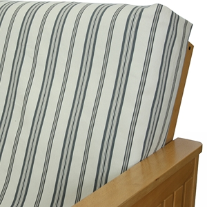 Wrangler Blue Stripe Full Futon Cover