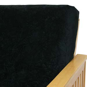 Black Velvet Daybed Cover
