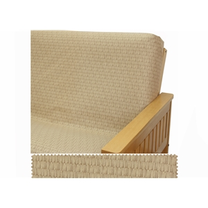 Basket Beige Fitted Mattres Cover