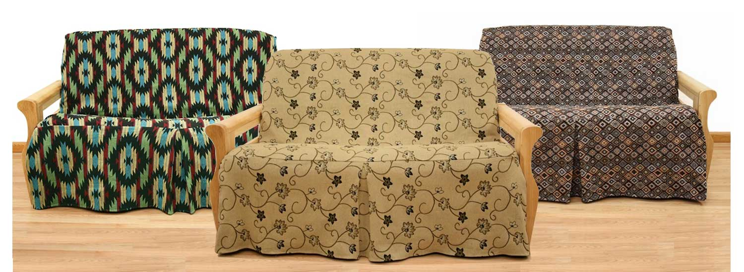 Exclusive Skirted Futon Covers