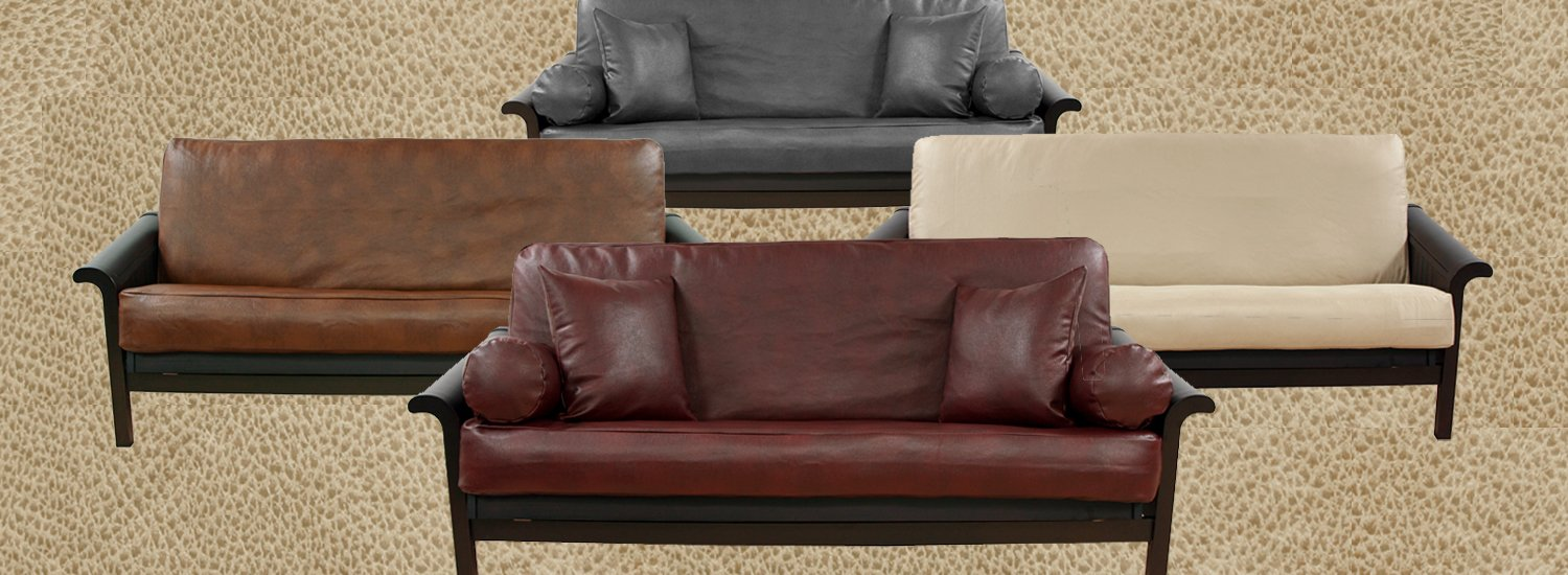 Faux Leather Futon Covers
