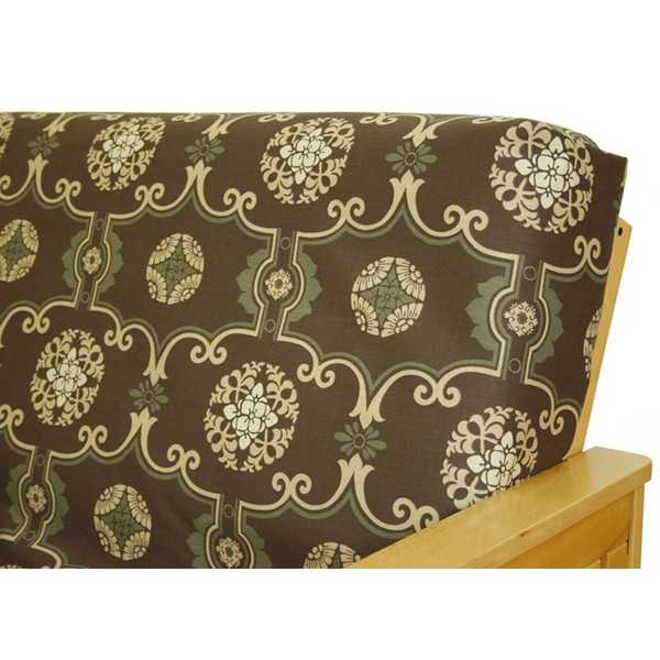 Moroccan Brown Zippered Cushion Cover 12