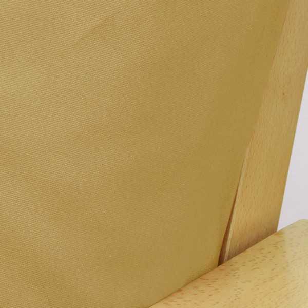 Poplin Gold Zippered Cushion Cover 910