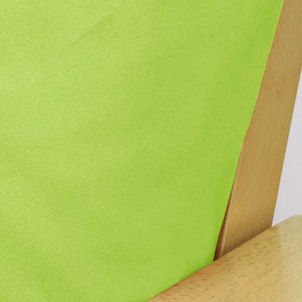 Poplin Lime Zippered Cushion Cover 909