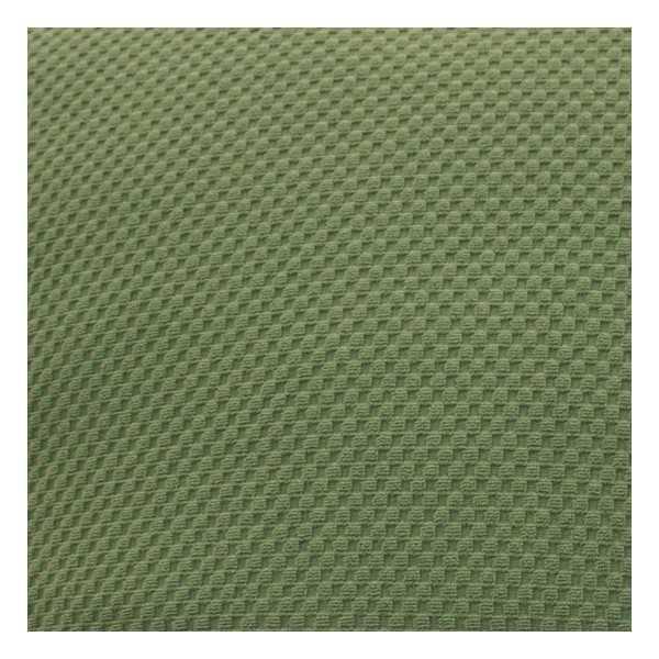 Stretch Pique Balsam Green Zippered Cushion Cover 708
