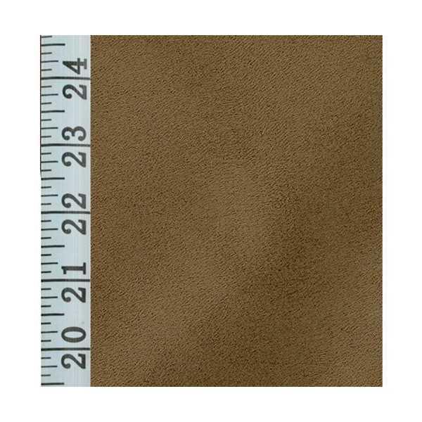 Stretch Suede Chestnut Zippered Cushion Cover 731