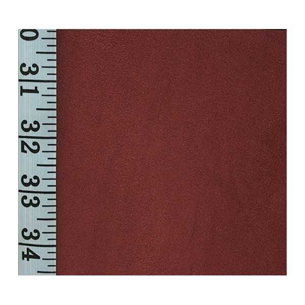 Stretch Suede Merlot Zippered Cushion Cover 733