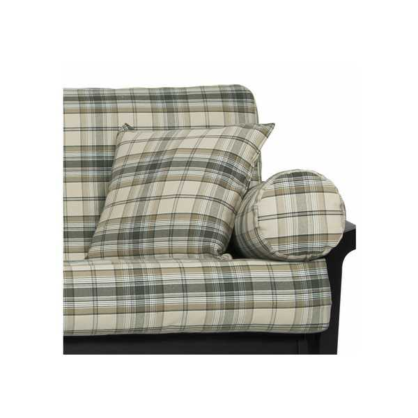 Fern Denim Plaid Custom Pillow Cover 199