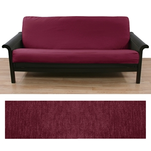 chenille-raspberry-full-futon-cover-wth-2-pillows-228