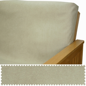 Plush Oyster Daybed Cover