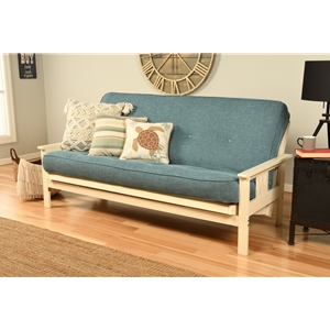 mission-arm-white-full-futon-frame-with-linen-aqua-mattress