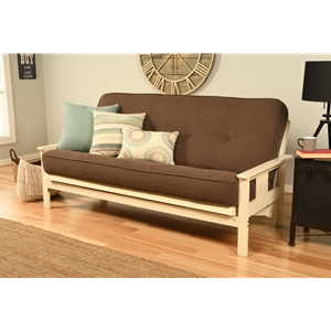 mission-arm-white-full-futon-frame-with-linen-cocoa-mattress