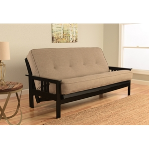 mission-arm-black-full-futon-frame-with-linen-stone-mattress