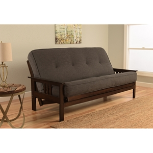 mission-arm-espresso-full-futon-frame-with-linen-charcoal-mattress