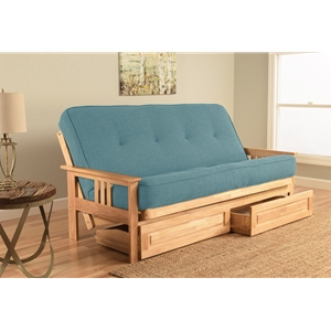 mission-arm-natural-full-futon-frame-with-linen-aqua-mattress