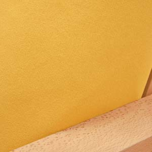 Ultra Suede Gold Yellow Fitted Mattress Cover
