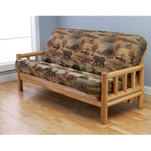 log-arm-natural-full-futon-frame-with-mattress-in-canadian