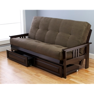 mission-arm-espresso-full-futon-frame-with-mattress-in-suede-olive