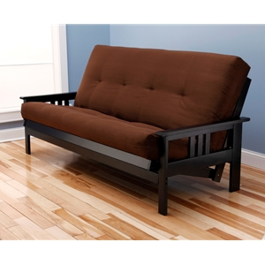 mission-arm-black-full-futon-frame-with-mattress-in-suede-chocolate