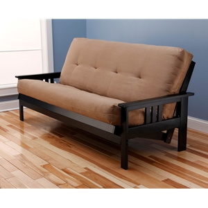 mission-arm-black-full-futon-frame-with-mattress-in-suede-peat