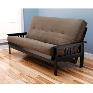 mission-arm-black-full-futon-frame-with-mattress-in-suede-olive