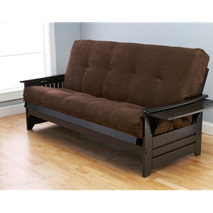 tray-arm-espresso-full-futon-frame-with-mattress-in-suede-chocolate