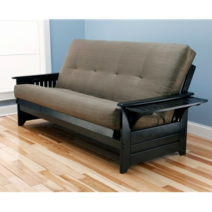 tray-arm-black-full-futon-frame-with-mattress-in-suede-olive