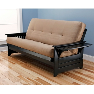 tray-arm-black-full-futon-frame-with-mattress-in-suede-peat