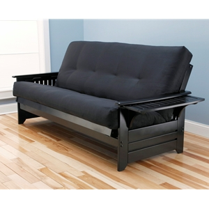 tray-arm-black-full-futon-frame-with-mattress-in-suede-black