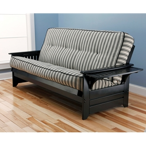 tray-arm-black-full-futon-frame-with-mattress-in-cozumel-navy