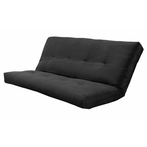 suede-black-innerspring-futon-mattress